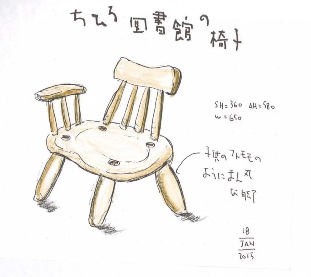ちひろ子供椅子
